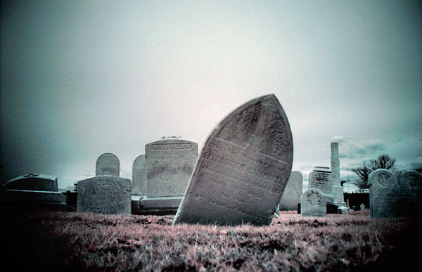 Sinking and Leaning Headstones
